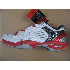7801 白红 羽毛球鞋