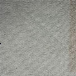 漂白纯棉起毛布上点胶 A17