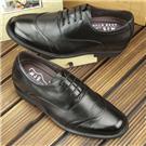 何金昌男士内增高鞋 隐形增高鞋 内增高皮鞋 男鞋