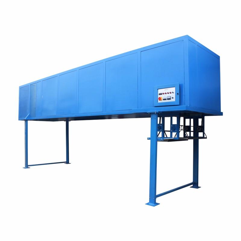 架空式吊篮冷冻定型机
