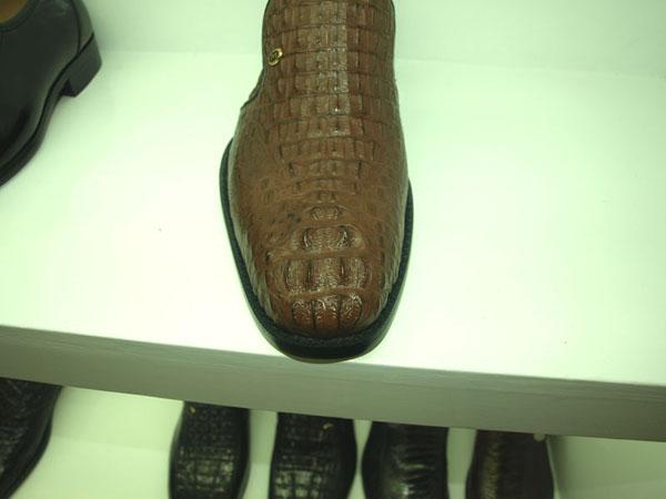 鳄鱼皮鞋 - 鳄鱼皮鞋