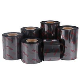 天津理光B120HS增強樹脂基條碼碳帶耐磨擦耐腐蝕
