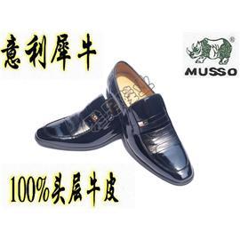 意利犀牛 男鞋 2011新款 正装 牛皮 真皮头层皮 88083
