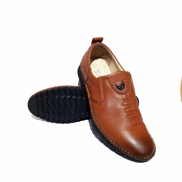 教你四种方法,鉴别真假牛皮鞋