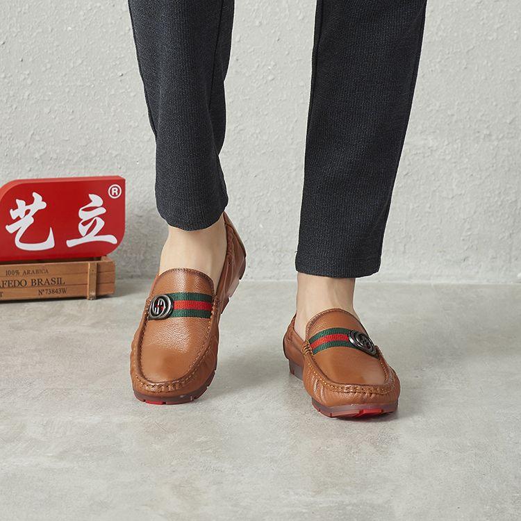 男士必备休闲软皮鞋:柔软舒适,上脚效果佳!