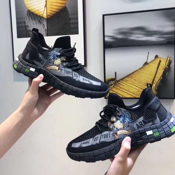 2020新款舒适百搭软底飞织运动休闲鞋,怎么穿都好看!