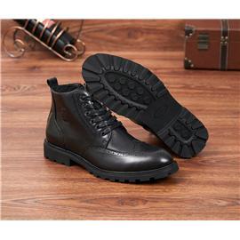 艺立 英伦布洛克时尚皮鞋9908