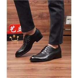 时尚潮流正装皮鞋高端新款商务英伦风皮鞋