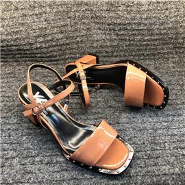 艺立 女士休闲高跟凉鞋196-1