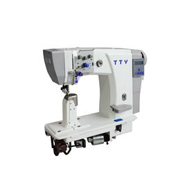 Fully Automatic Speaking Single Needle Post Bed Sewing Machine