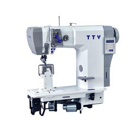 TTY-9923 Fully automatic double needle post bed roller feed sewing machine