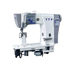TTY-9619 Fully automatic heavy duty double needle post bed roller feed sewing machine