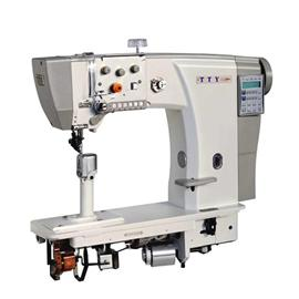 TTY-9630 Full automatic drive roller slim post bed sewing machine with top and bottom feed