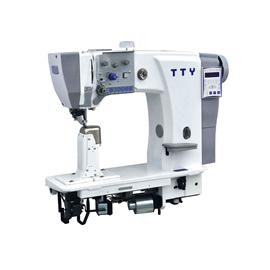 TTY-9618 Fully automatic heavy duty single needle post bed roller feed sewing machine