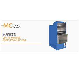 MC-725 水洗喷漆台  生产流水线  喷漆台