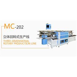 MC-202  立体回转式生产线  生产流水线  烘干机