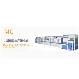 小组精益生产线模式  生产流水线  烘干机