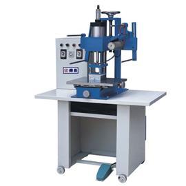 气动全自动烫金机 HC324 汽压自动烫金机 鞋面整型机