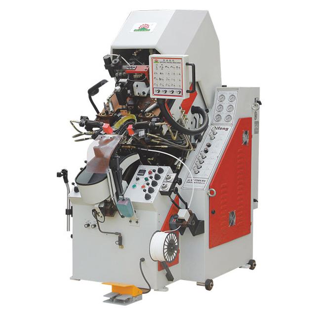 QF-K738A(MA)精益型油压电脑控制自动上胶前帮机 操作简单 前帮机 中后帮机