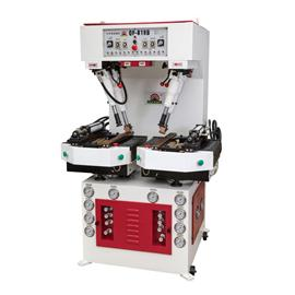 QF-818c强力墙式压底机(PLC+浮底)|操作简单|前帮机|中后帮机