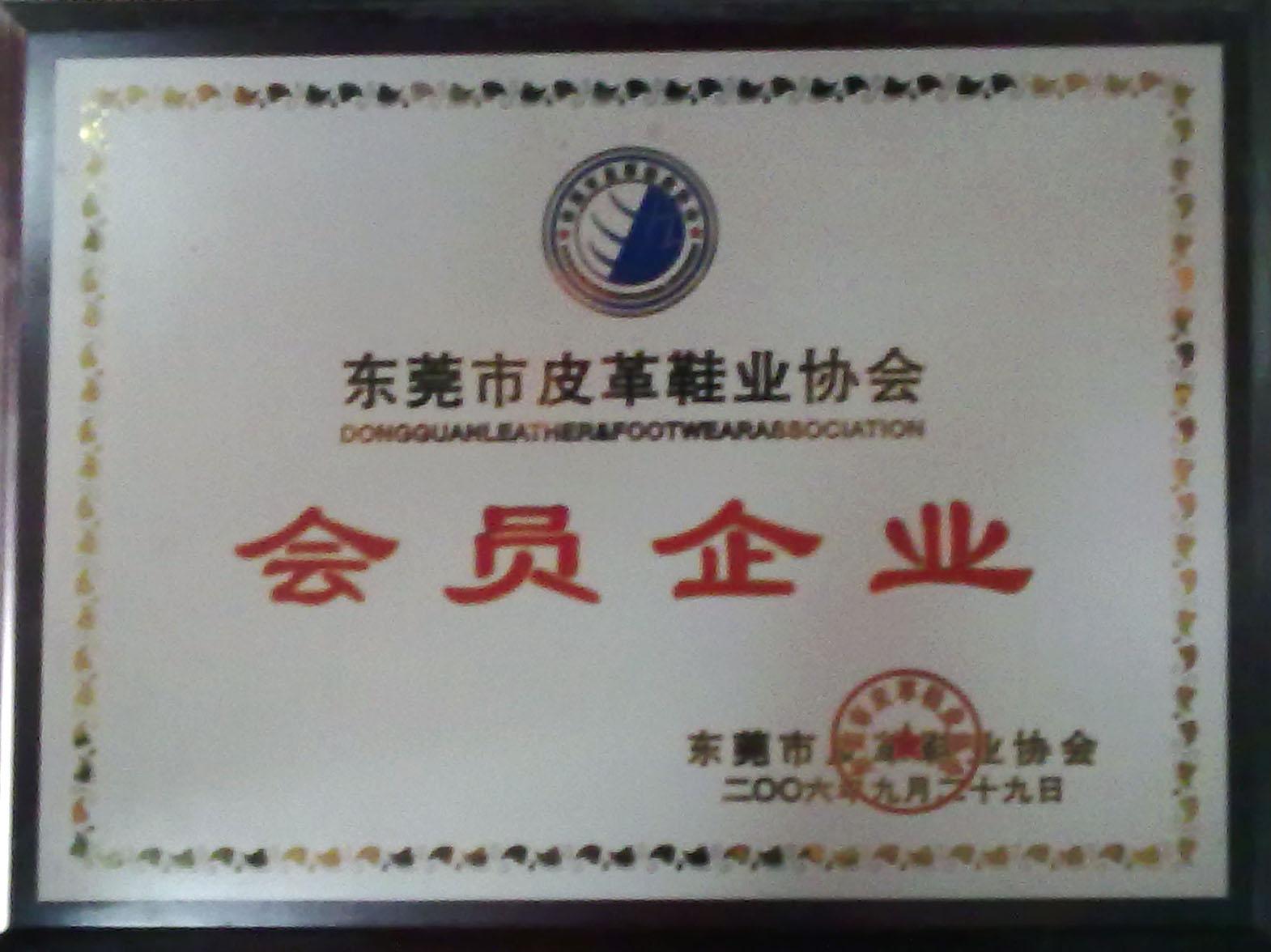 东莞皮革协会会员