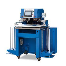 YL-8875B 标签全自动转印机(双头) 商标转印机 热转印机