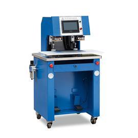YL-8875 标签自动转印机(双头) 商标转印机 烫金机