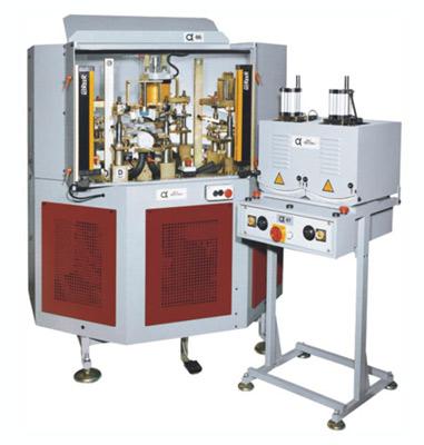 ALFA66 FOUR STATIONS UPPER TOE SHAPING MACHINE/ALFA67TWO HOT UPPER TOE SHAPING MACHINE