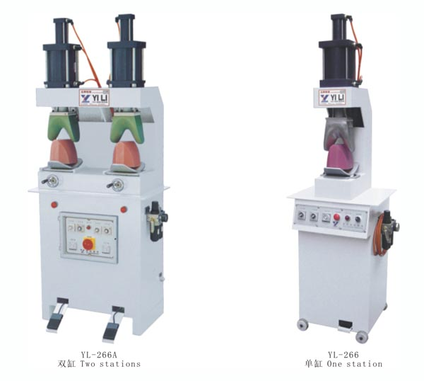 YL-266 、266A UPPER FORMING MACHINE(One station)