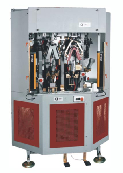ALFA88 CFHP FOUR STATIONS COUNTER MOULDING MACHINE