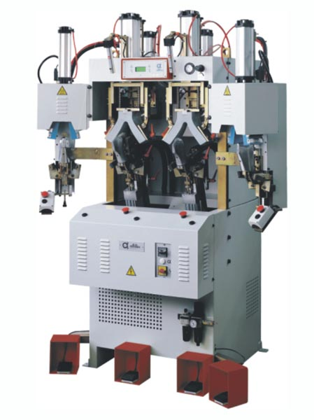 ALFA96CF2HP TWO COLD AND TWO HOT COUNTER MOULDING MACHINE