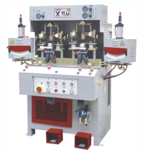 YL-88N2HC TWO COLD AND TWO HOT TOE FORMING MACHINE