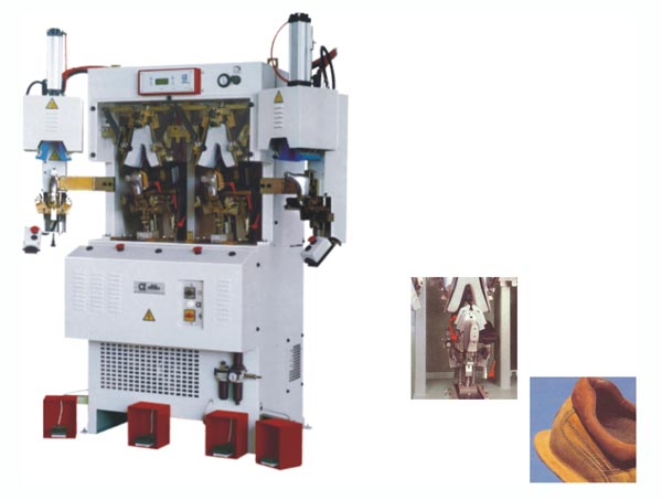 ALFA684 ICF2HP TWO COLD AND  TWO  HOT  COUNTER  MOULDING MACHINE  FOR  STITCH-DOWN  SHOES