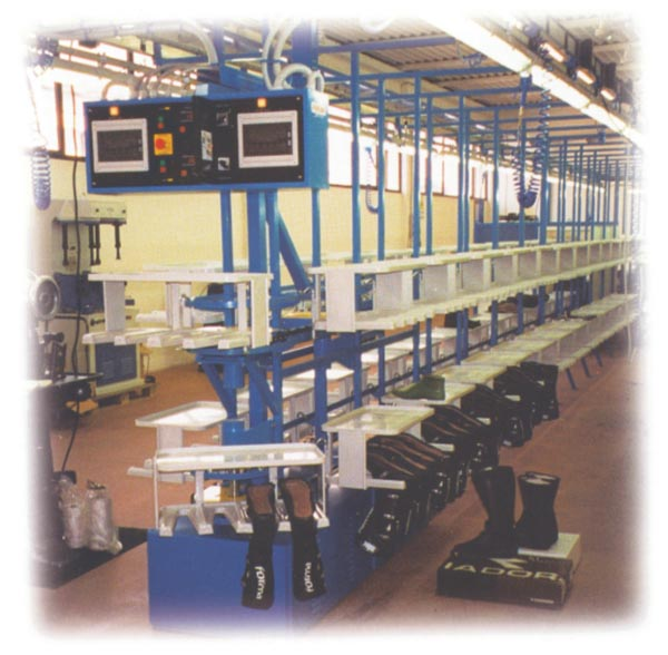 YL-4207A VOLONTE CONVEYOR (DOUBLE CHAIN DOUBLE LAYERS)
