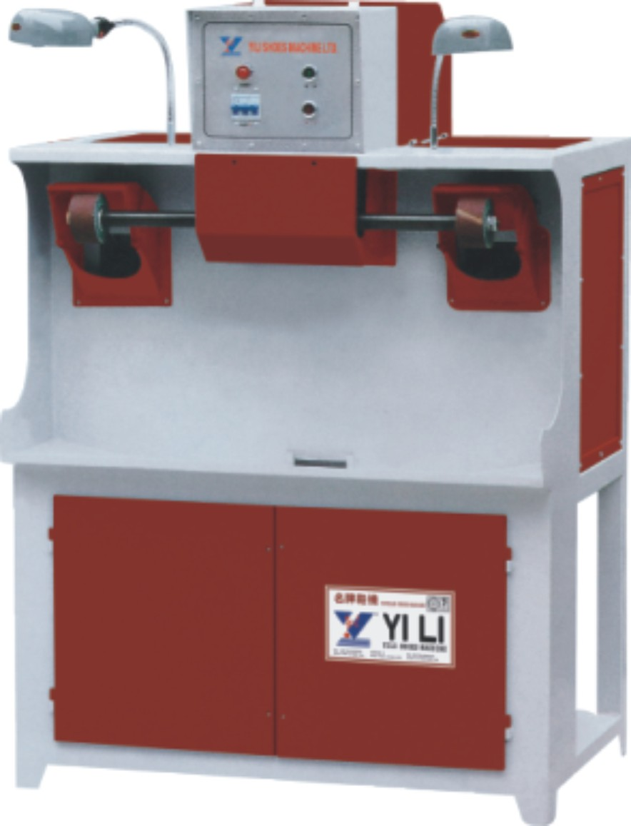 YL-112 MIGHTINESS ROUGHING MACHINE WITH DUST EXHAUST (DOUBLE SHAFTS)
