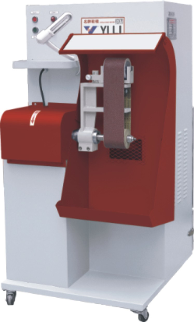 YL-109A ABRASIVE BAND ROUGHING MACHINE WITH DUST EXHAUST SYSTEM
