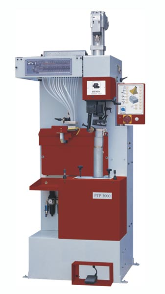 PTP3000 AUTOMATIC HYDRAULIC HEEL-NAILING MACHINE(14+2)