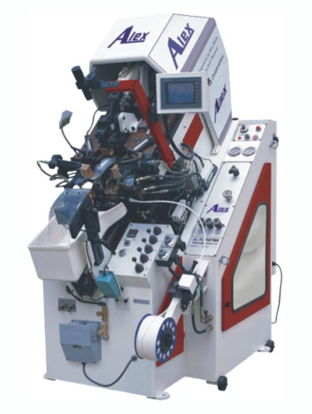 YL-847MA 9-PINCERS COMPUTER TOE LASTING MACHINE WITH HOT MELT
