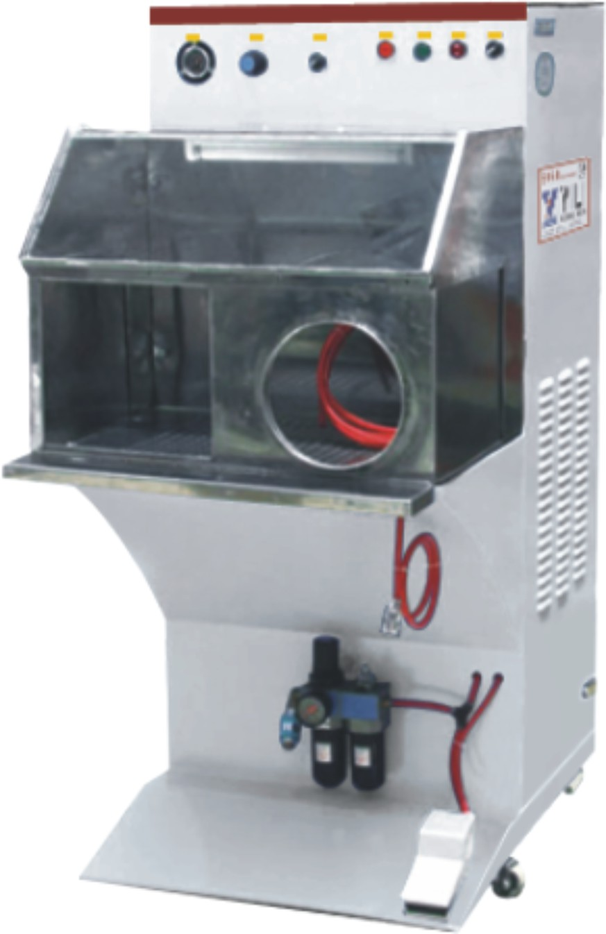 YL-113 MANUAL ROUGHING MACHINE WITH DUST EXHAUST