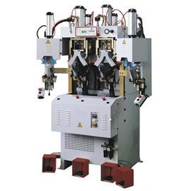ALFA96 CF2HP 两冷两热经济型后踵定型机 |双层立体输送线 |自动喷胶机器人