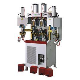 ALFA75 两冷两热气囊式后踵定型机 |鞋厂自动化生产线 |鞋子自动化生产线