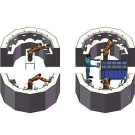 珠宝研磨机器人工作站 |制鞋自动化生产线 |鞋厂自动化生产线