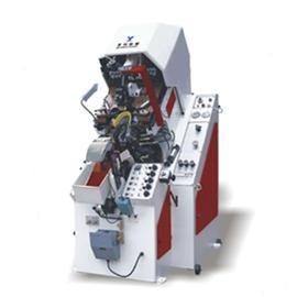 YL-837A 油壓自動前幫機 |鞋子自動化生產線 |雙層立體輸送線