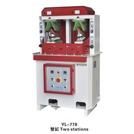 YL-777/YL-778 鞋面压翘机 、缝合机 |鞋厂自动化生产线 |双层立体输送线