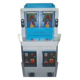 LC-231/2 Two-Station Pneumatic Shoe Upper Arc-Shape Moulding Machine