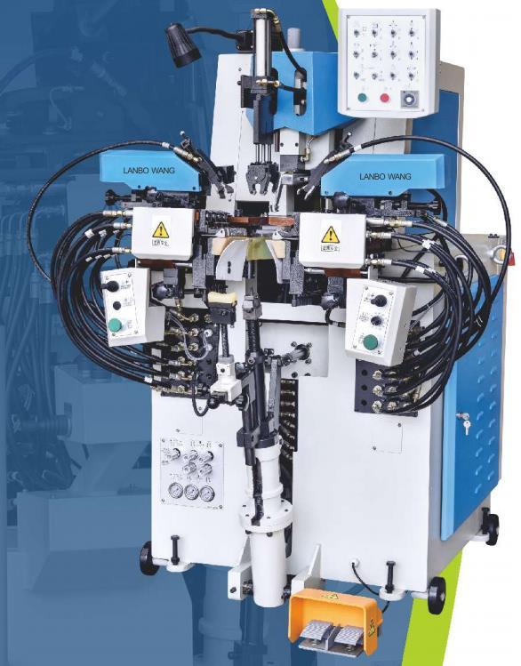 结帮机,前帮机,后帮机,钉跟机,压底机,鞋头定型机,中后帮机,压底机,中底注塑机
