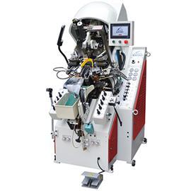 LB-980A 油压自动前帮机(九爪)   厂家直销 提供一年免费保修