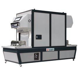 R-618D gantry electric vacuum vulcanizing machine
