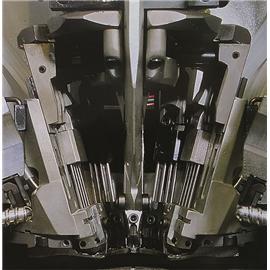 ROLLER 880 FLEX 中后帮带滚轮打钉机 意大利鞋机钉跟机  前帮机   不锈钢流水线