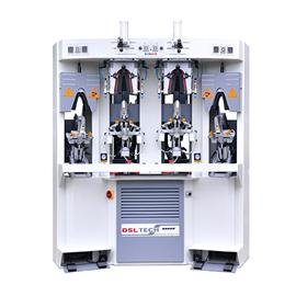 D-682A Two Cold &Two Hot Backpart Moulding Machine